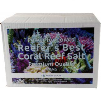 Korallen Zucht Reefer s Best Salt Premium 20 kg