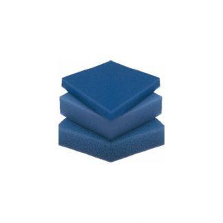Blauw filterschuim fijn, 2x50x50cm
