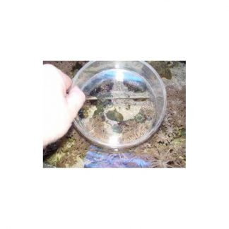 Plexiglas drijvend kijkglas 150x75mm hg.